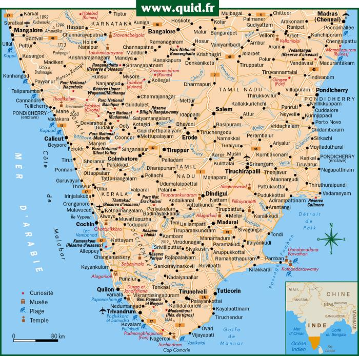 south india map with tourist places South India Road Map Cinemergente south india map with tourist places